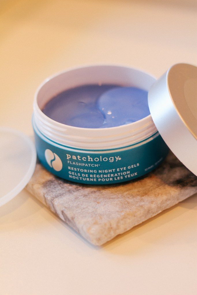 Patchology Restoring Night Eye Gels, skincare routine