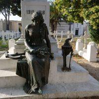 Cimitero di Brindisi - Statua ai Marinai Caduti