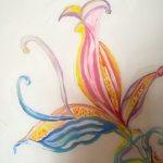 Fioritura, particolare petali