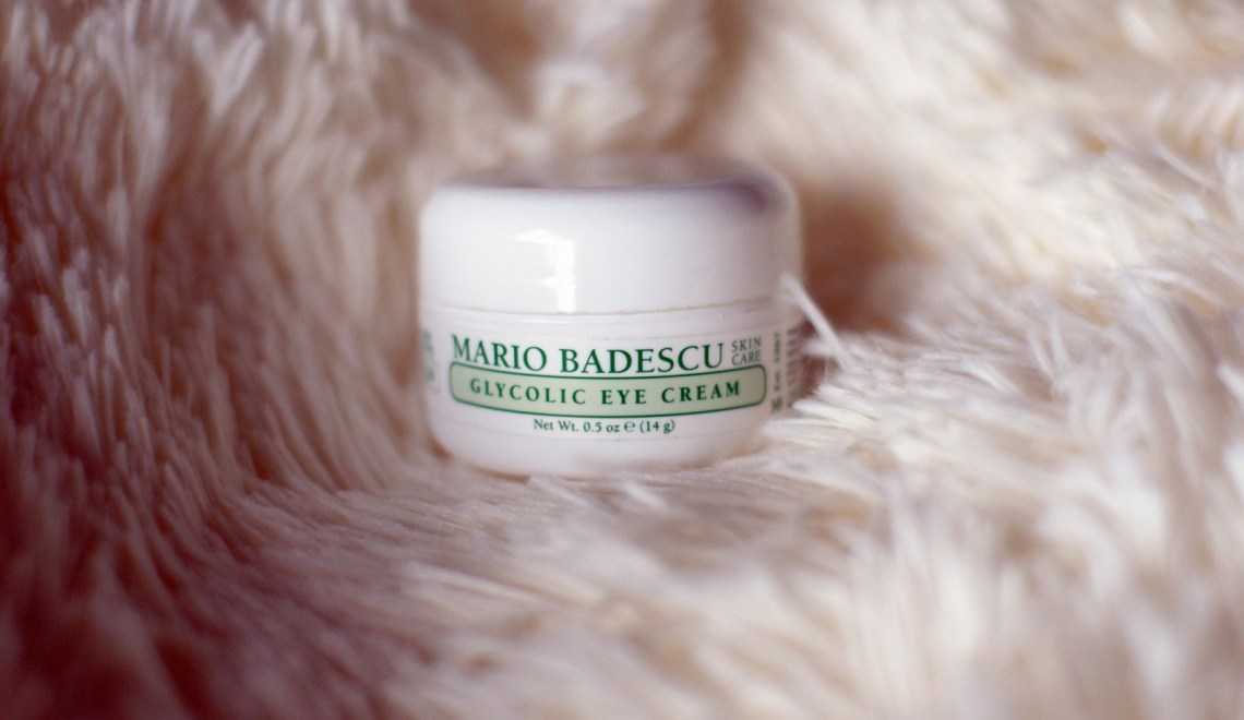 Brunette on Demand Mario Badescu Glycolic Eye Cream Review
