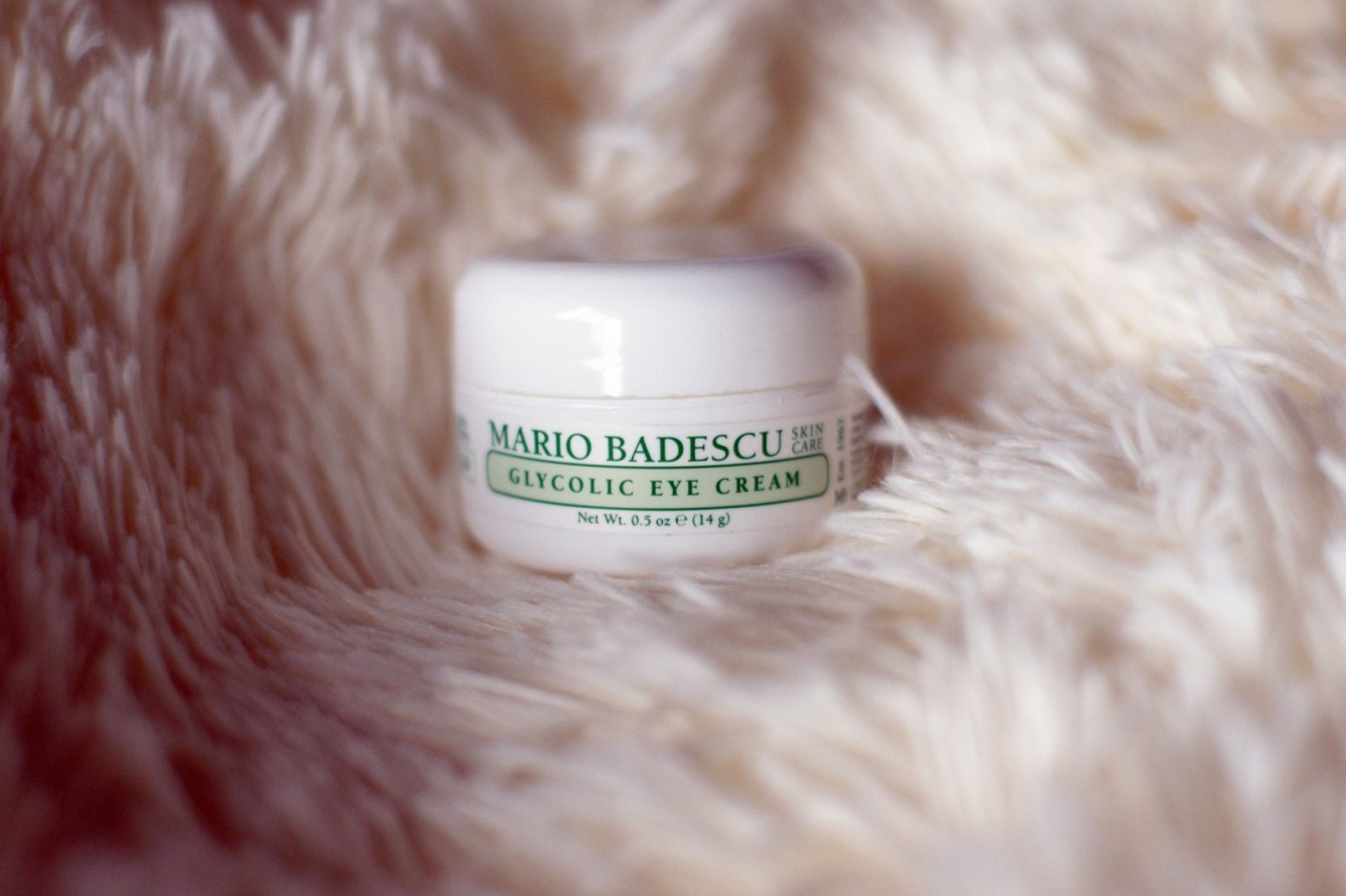 Brunette on Demand Mario Badescu Glycolic Eye Cream Review