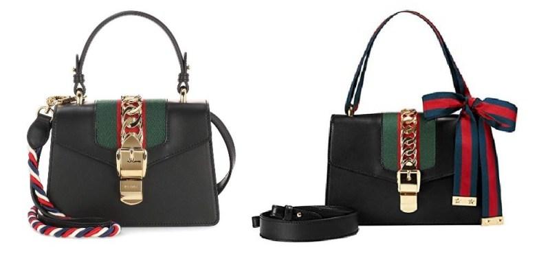 Gucci Sylvie Bag and Gucci Bag Dupes