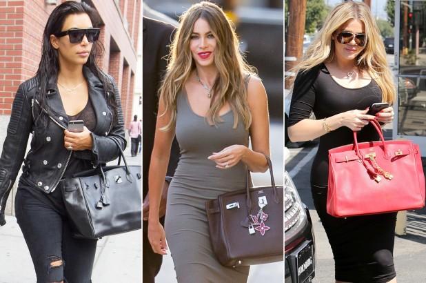 Celebrities holding Hermes Birkin Bags
