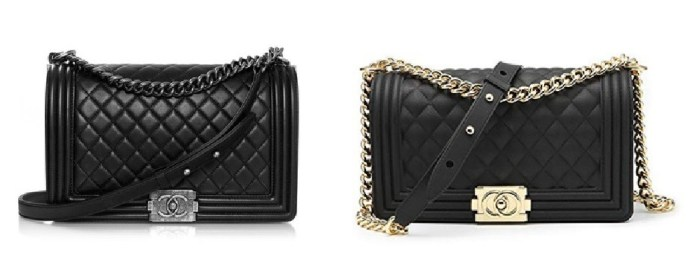 Chanel Black Boy Bag and Chanel Look Alike Bags