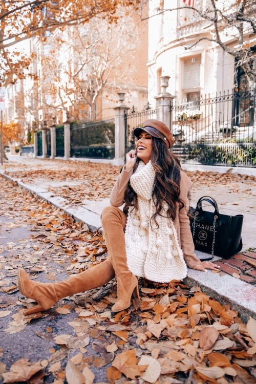 20 Trendy Winter Outfit Ideas To Keep You Warm - 16