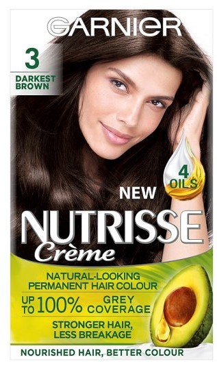 4 Permanent At Home Hair Dyes I've Tried Garnier Nutrisse
