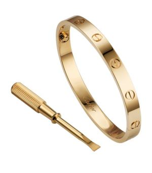 18kt-yellow-gold-love-bracelet -Cartier Dupes