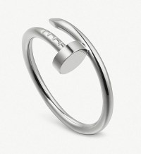 Cartier Juste un Clou 18ct white-gold ring