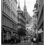 Ulice Josefská a Petrov