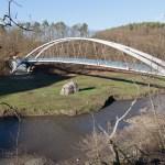 Lávka - most pod hradem Veveří