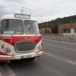 Škoda 706 před vozovnou