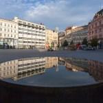 Kašna na náměstí Svobody