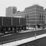 Vaňkovka a budova Trinity