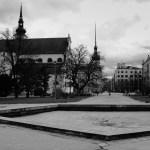 Moravské náměstí - kašna