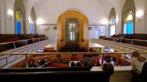 Mt Neboh Baptist Church (photo en cachette)