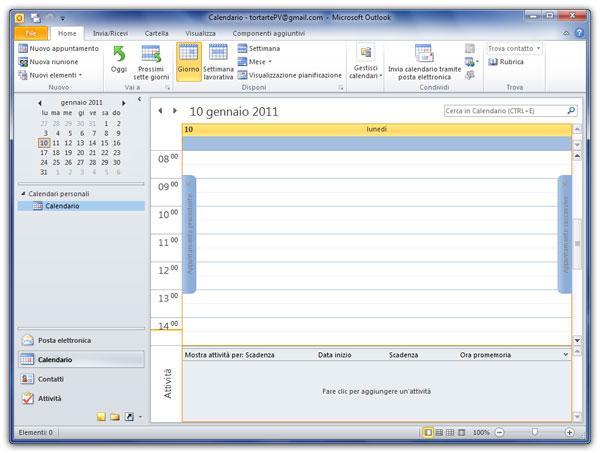 Outlook Calendario.Personalizzare Il Calendario Di Outlook