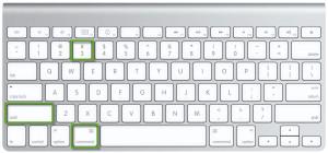 Scorciatoie da tastiera per mac