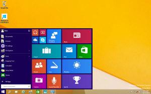 windows menu start