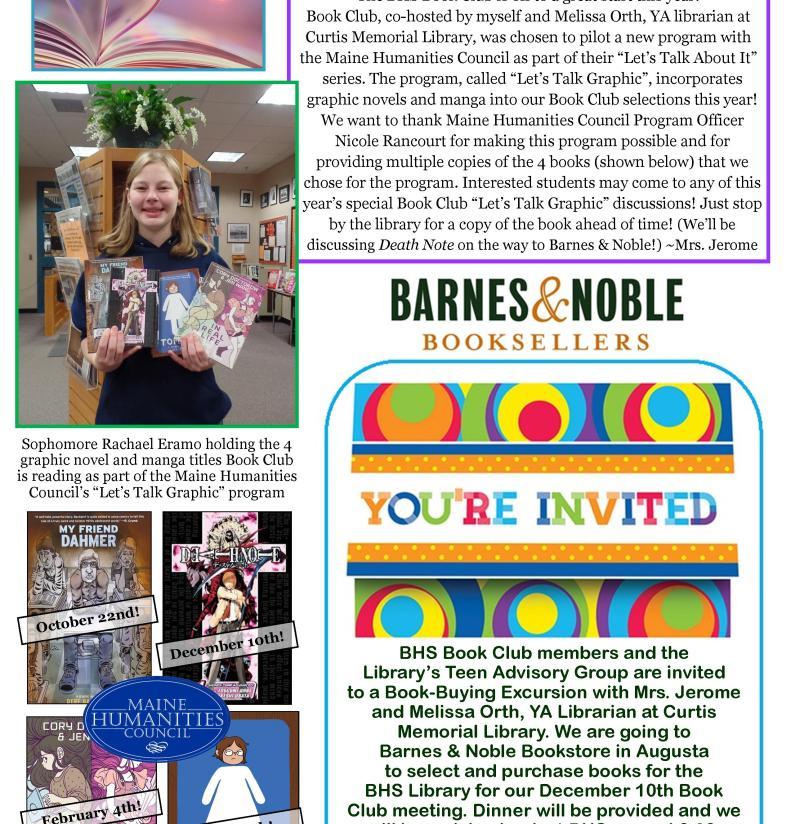 BHS Library Newsletter December 2015 for website