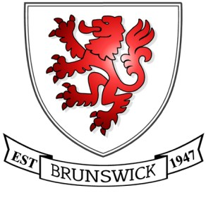 The logo of Brunswick Youth and Community Centre, a registered charity.