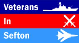 veterans in sefton logo