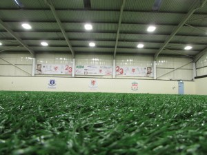 Brunswick Youth and Community Centre has a 3G indoor football pitch for you to keep fit on.