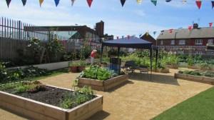 Brunswick Community Garden.