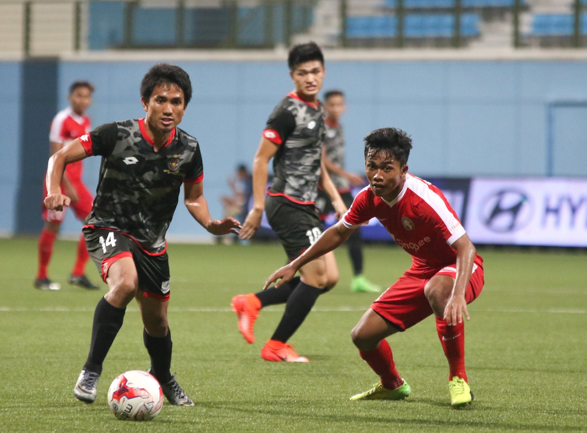 DPMM FC aim to tame the Young Lions