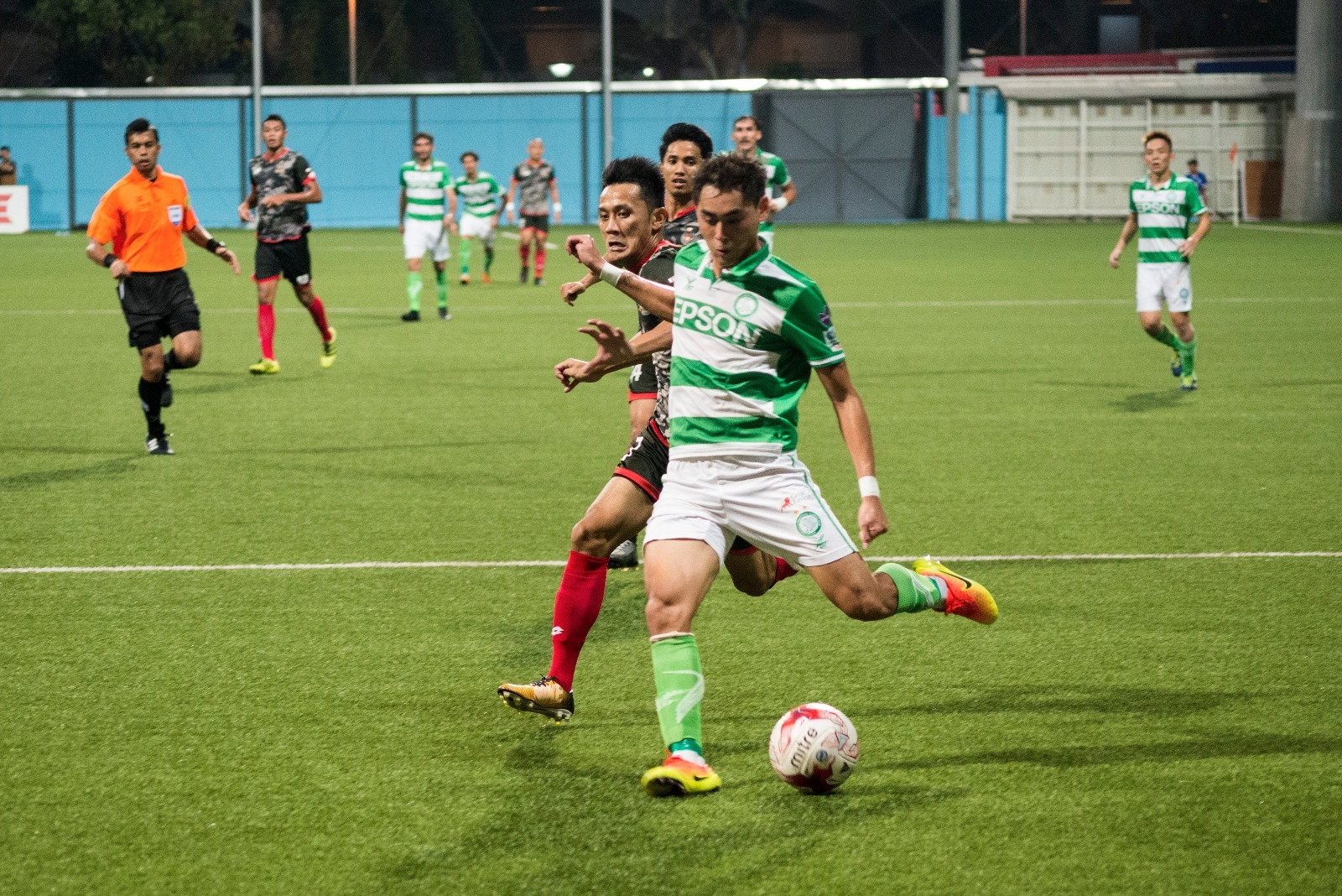 Eagles fire four past DPMM FC