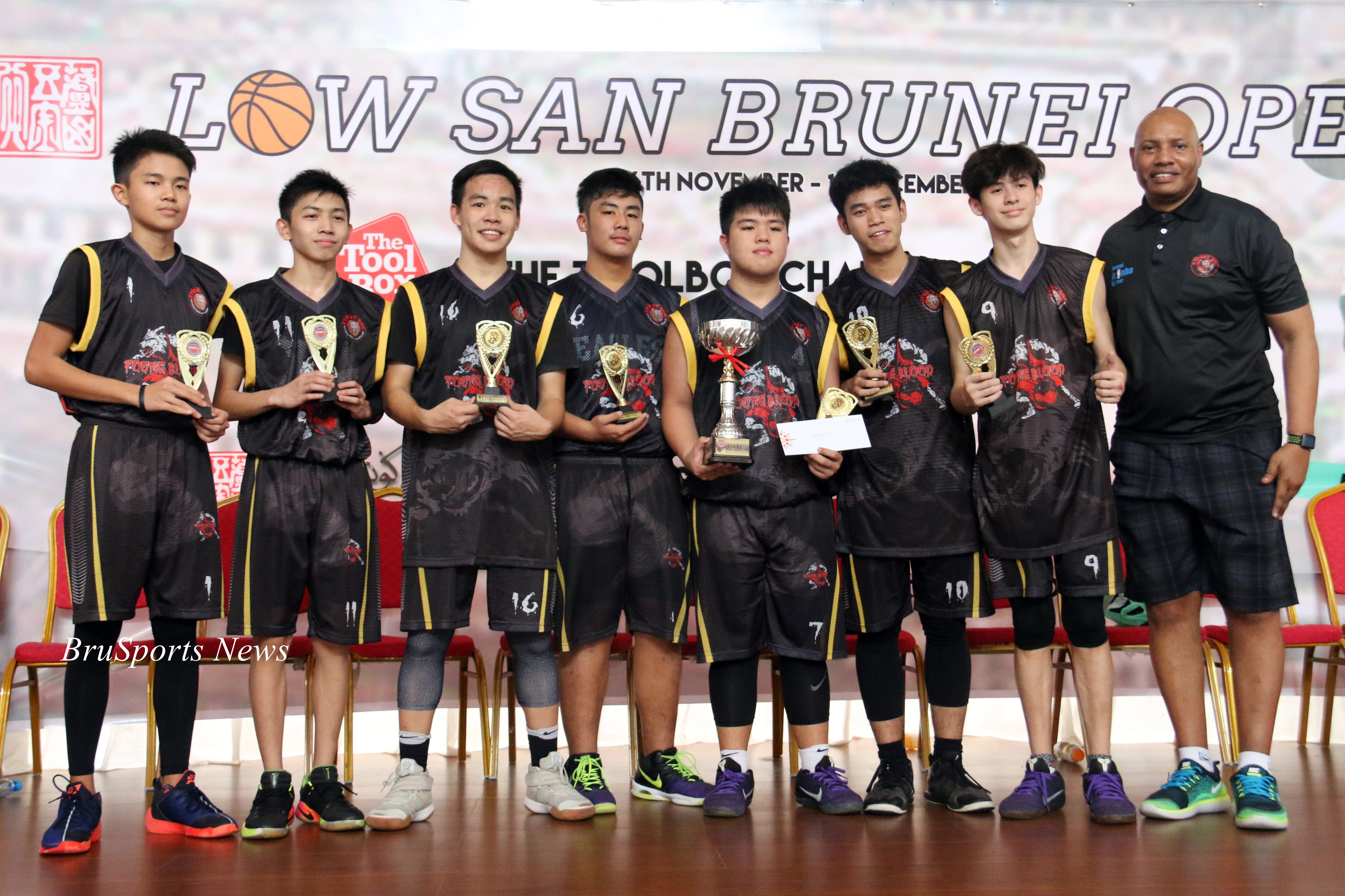 Young Blood tame Wolves for title