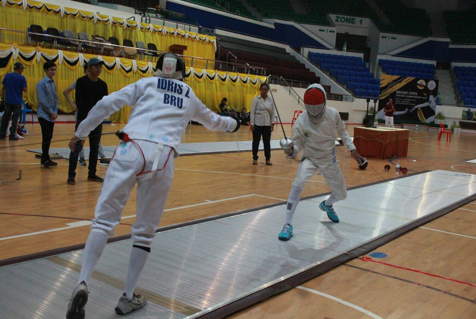National fencing team continue to deliver medals
