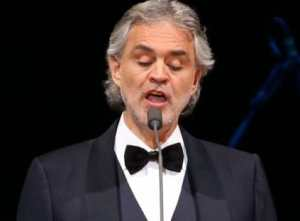 Andrea Bocelli concert in Antwerpen