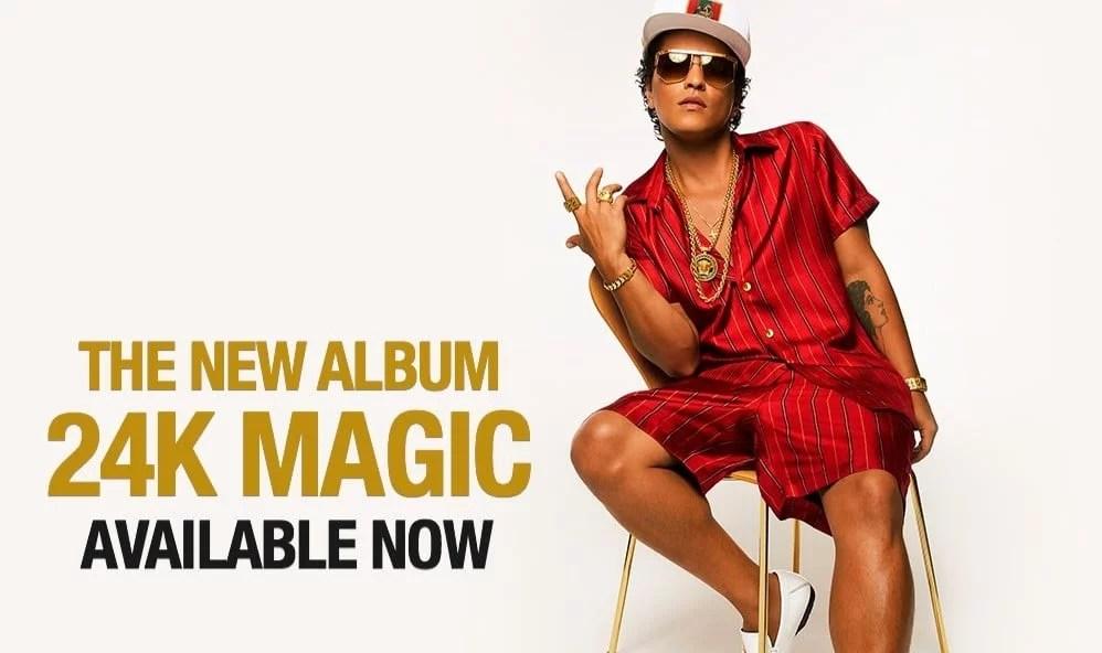 Bruno Mars concerts in Antwerpen