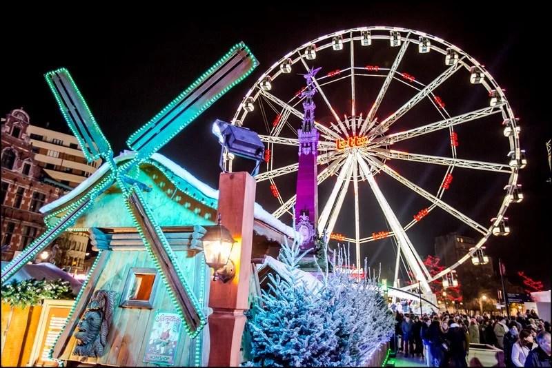 Julemarked i Brussel i 2015