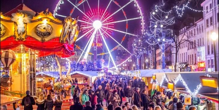 Julemarked i Brussel i 2016