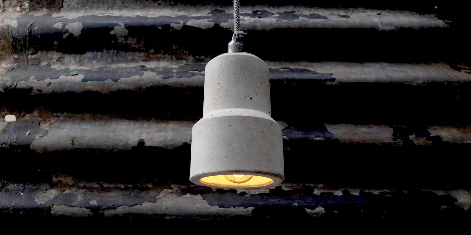 Concrete Pendant Light Uk