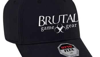 Brutal Logo XXL FlexFit Camo Cap – Brutal Game Gear USA