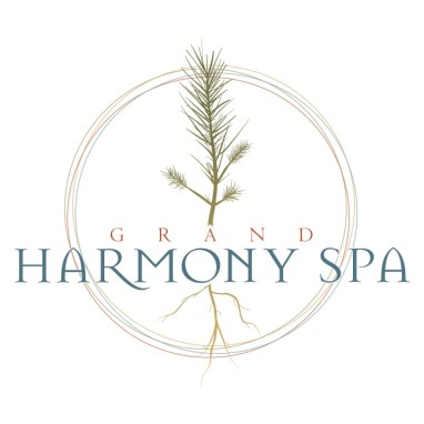 North woods themed spa logo
