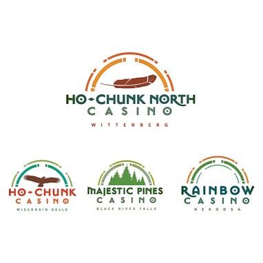 Casino branding logos