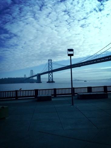 Bay Bridge Morning Run.