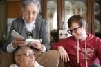 Grandpa, Grandma and I