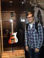 Kurt Cobain's Guitar Nirvana museum