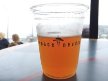 Beer at the top of the Space Needle