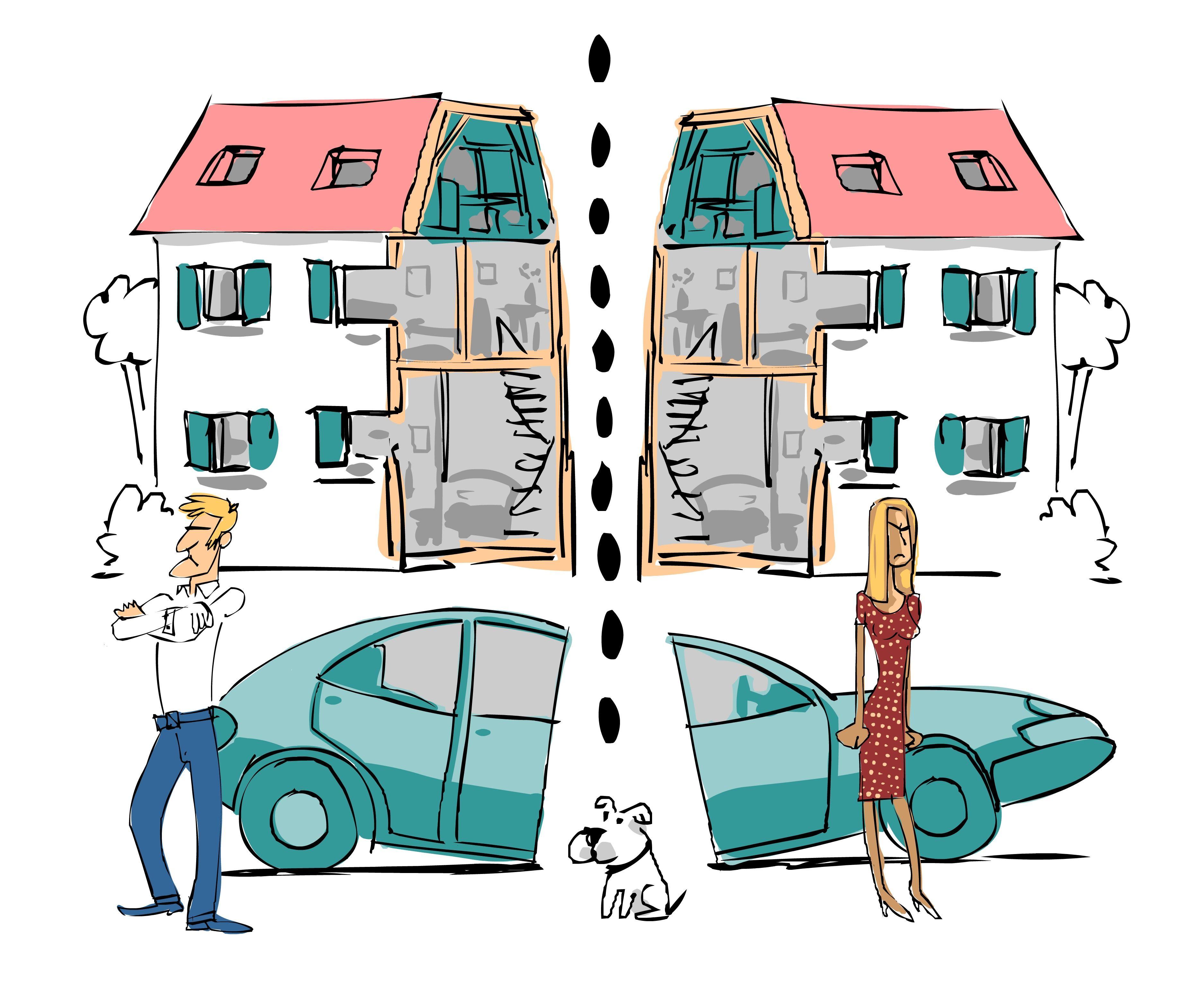 Dividing Property In A Texas Divorce