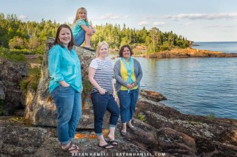 portraits by lake superior