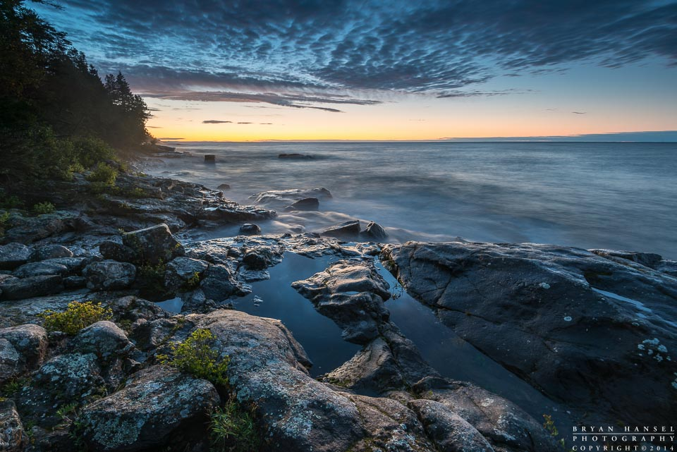 Lake Superior from Cascade River State Park