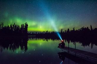 night skies of gunflint trail