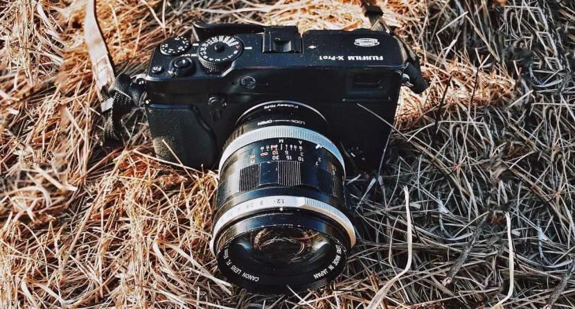 Canon FL 55mm f/1.2 on Fuji X-Pro 1
