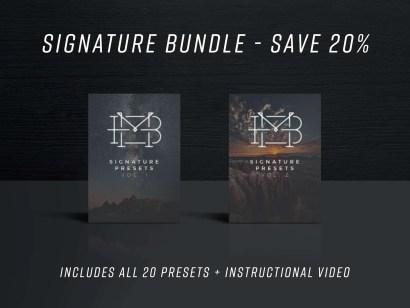 Signature Preset Bundle - Vol. 1 & 2