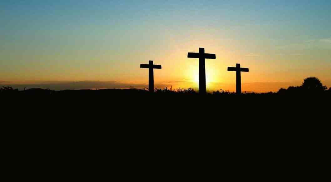 three crosses - focus on Jesus